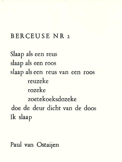 paul van ostaijen gedichten