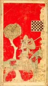 Walewein en het schaakbord