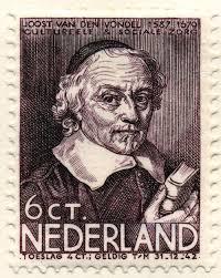 Vondel postzegel